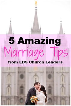 Fabulous marriage tips from lds church leaders and prophets! This is how to have a strong, lasting marriage!! | marriage council | helps | Ideas | Wedding Planning | www.templesquare.com/weddings/blog