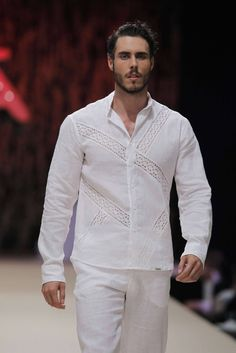 Ibizamoda Spring-Summer 2017 - Adlib Ibiza Fashion Week Ibiza Fashion, Hipster Fashion, Fashion Trends, Indian Men Fashion, Mens Fashion, Beach Attire, Men Design, Collar Shirts, Shirt Style