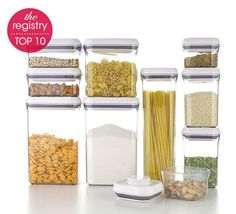Registry Top 10: OXO Pop Containers #macys #ido #registry BUY NOW!