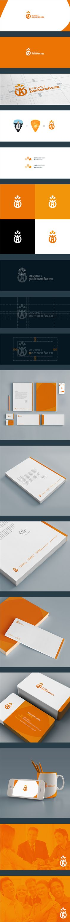 Project Orange identity | #stationary #corporate #design #corporatedesign #logo #identity #branding #marketing <<< repinned by an #advertising agency from #Hamburg / #Germany - www.BlickeDeeler.de