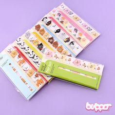 Peep Out Animal Sticky Notes Set