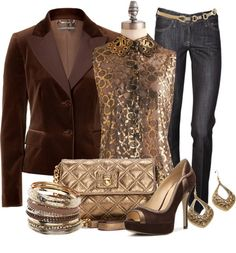 """""""A Sparkly, Shiny New Year"""" by stylesbyjoey ❤ liked on Polyvore"""