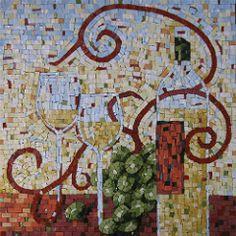 wein.genuss (Angela Zimek) Tags: wine mosaic mosaico vino wein mosaik