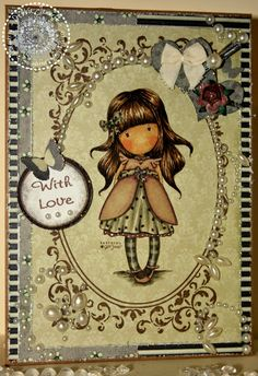 Skin E 33,11,21,51,R 20 Hair E 49, 47,57 Grey on dress W 7, 5, 3 brown on dress shale, tawny owl, tan Freckles Place: That Craft Place - Shabby Chic
