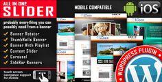 All In One Slider v3.6  Responsive WordPress Slider Plugin