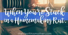 It's not always easy to stay motivated keeping house when you are your own boss and the perks are different. Here's how to love making a home again.
