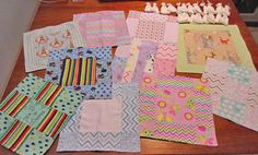 For angel babies that are too small and fragile, even for our diapers, we offer tiny little mini-blankets or mini-quilts and stockinette hat...