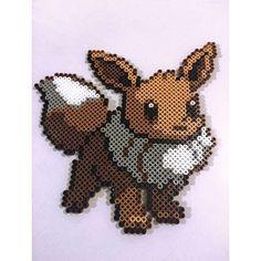 Eevee - Pokemon perler beads by elizascreations