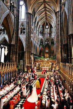 Majestic. The wedding of Catherine Elizabeth and Prince William.