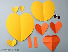 Paper Chick Craft For Kids - Sassy Dealz
