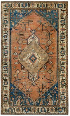 Antique Bakshaish Persian Rug #43968 Detail/Large View - By Nazmiyal