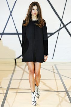 Lisa Perry | Fall 2014 Ready-to-Wear Collection | Style.com #NYFW.  Oh shit, hello short hemlines!