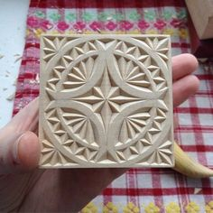 """Two stars in the sky"" chip carved boxes"
