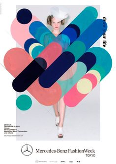 poster | Mercedes-Benz Fashion Week — spring-summer Tokyo Collection participation 49 brand announcement