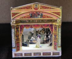 Paper Theater by AngelikasMinis on Etsy, $40.00