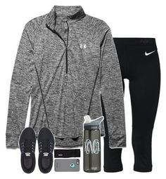 if i was a runner by sarahc-01 ❤ liked on Polyvore featuring NIKE, Under Armour, Patagonia, womens clothing, women, female, woman, misses and juniors