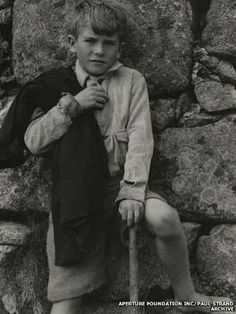 Paul Strand photograph...Photographs of South Uist and its people in the 1950s goes on display at the Scottish National Portrait Gallery in Edinburgh.