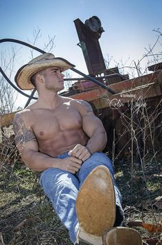 Sexy Cowboy #cowboys #hot #men