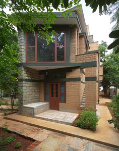 Indian Home Design, Indian Home Interior, Village House Design, Village Houses, Vernacular Architecture, Architecture Design, Dream Homes, My Dream Home, Small Country Homes