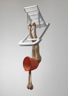 sarah lucas sculpture - Google Search