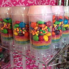 Push pop candy favors