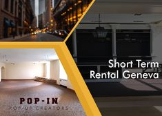 Looking for a pop-up store in Geneva for short-term? If yes, then contact Pop In at We are providing ideal short-term rental space at affordable prices.