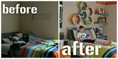 Cool ideas for the boy's room