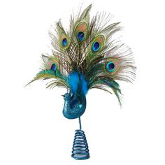 @Overstock - Kurt Adler 17-inch Decorative Peacock Treetop - Adorn your Christmas tree with this beautiful peacock treetop by Kurt Adler, featuring a coil base that easily connects to your tree. With a blue base and multicolored feathers at the top, this decorative treetop has an eye-catching design.  http://www.overstock.com/Home-Garden/Kurt-Adler-17-inch-Decorative-Peacock-Treetop/9542001/product.html?CID=214117 CAD              55.49
