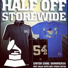 50% Off GRAMMY Gear over at grammystore.com! - @thegrammys- #webstagram
