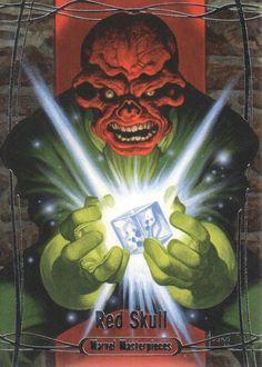 2016 Marvel Masterpieces Joe Jusko Base Card #47 Red Skull /1499   eBay