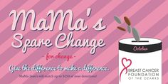 It's that month again... Think Pink! October's Spare Change is going to Breast Cancer Foundation of the Ozarks! Next time you are at check out, throw that change in the can! Remember, we match it!