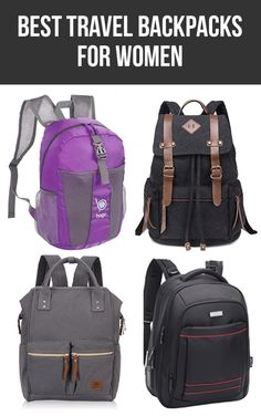 e2321b36fe22 Here are the best travel backpacks for women.  travel  travelbackpacks   backpacks