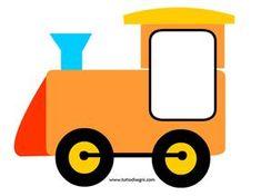 Trenino portafoto - Locomotiva - TuttoDisegni.com Preschool Number Worksheets, Preschool Food, Numbers Preschool, Preschool Crafts, Classroom Board, Classroom Decor, Activity Sheets For Kids, Activities For Kids, Creative Teaching Press