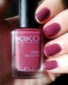 Nail Polish for fall: KIKO - No. 317