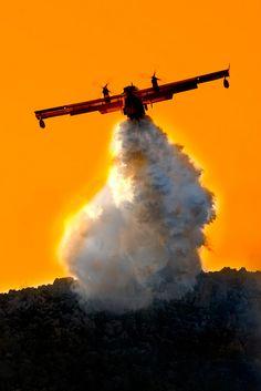 Incendio di Pizzo Sella e Monte Gallo by lorca56 on Flickr.