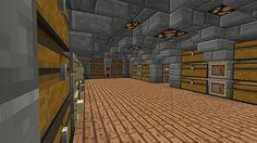 Underground Survival Base Minecraft Project