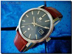 my new watch. Vintage Tissot Seastar automatic.