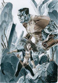 Colossus & Shadowcat - Nicolas Demare
