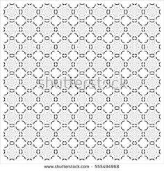 Floral Heart Pattern vector illustration (Valentine's Day Concept), Southeast Asia Art Design