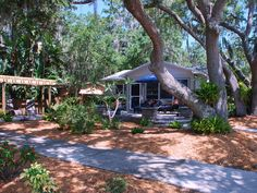 Safety Harbor Vacation Rental - VRBO 102521 - 2 BR Florida Central West House in FL, Charming Downtown Bungalow, 'the Blue Heron'