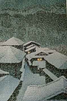 Shiobara Hataori / 塩原 畑下, Kawase Hasui / 川瀬巴水. Japanese (1883 - 1957)
