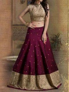 Half Saree Lehenga, Lehenga Saree Design, Lehenga Designs, Half Saree Designs, Sari Blouse Designs, Designer Party Wear Dresses, Indian Designer Outfits, Designer Wear, Indian Bridal Lehenga