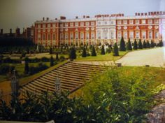 The south front of Hampton Court Palace