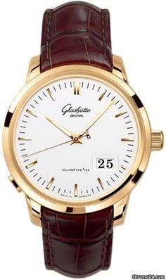 Glashütte Original Senator Panorama Date $17,200 #Glashuette #watch #watches…