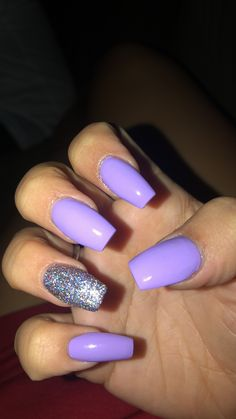 nails, You can collect images you discovered organize them, add your own ideas to your collections and share with other people. Purple Acrylic Nails, Acrylic Nails Coffin Short, Square Acrylic Nails, Best Acrylic Nails, Purple Nails, Coffin Nails, Aycrlic Nails, Swag Nails, Grunge Nails