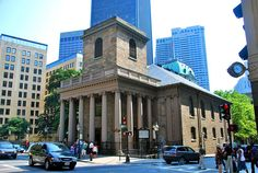 King's Chapel, Tremont and School Streets, Boston, MA. King's Chapel was founded by Royal Governor Sir Edmund Andros in 1686 as the first Anglican Church in New England during the reign of King James II.