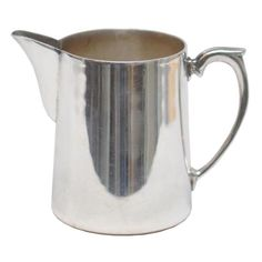 Vintage Hotel Silverplate Mini Pitcher, Available at The Hour & TheHourShop.com ~ curated goods for the modern home bar.