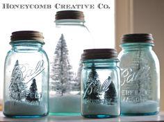 Honeycomb Creative Co. bottle brush trees with Epsom salts?