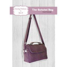 Satchel Bag PDF Advanced Sewing pattern  door SewingPatternsbyMrsH, £4.00