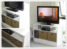 Old Dresser Upcycled to TV Cabinet!